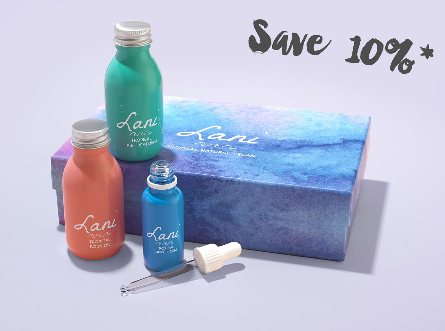 Products - Lani - Tropical  Natural  Vegan - Cruelty-free hair